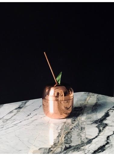 Bakır İstanbul Apple Kokteyl Bardağı Renkli